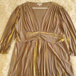 Fashion bug shimmering blouse